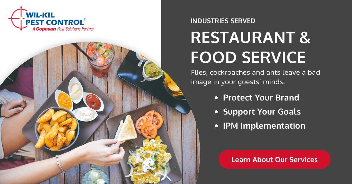 Restaurant Amp Food Service Pest Control Wil Kil Pest Control