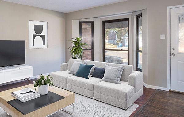 Inside of Living Room in House